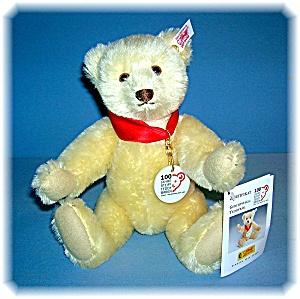 White 10 Inch 2002 Anniversary STEIFF Teddy Bear (Image1)
