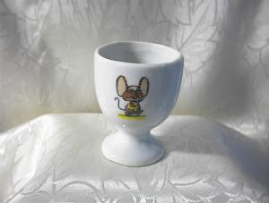 Egg Cup China with Mouse Taiwan and England  (Image1)