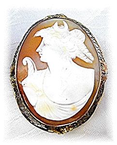 Beautiful Antique Handcarved Cameo (Image1)