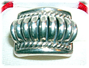 Native American Sterling Silver Tommie Charlie Ring