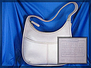 COACH Leather Pale Lilac  Purse HandBag (Image1)
