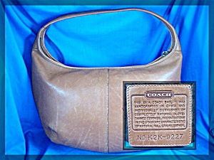 Coach British Tan Hobo Handbag