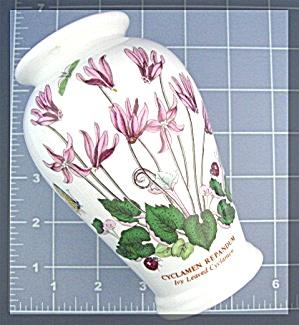 Portmeirion Botanic Garden Vase.  Ivy leaved cyclamen (Image1)