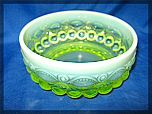 Vaseline Opalescent Glass Eye Winker Candy Dish (Image1)
