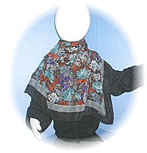 ELLEN TRACY silk SCARF (Image1)