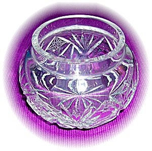 Cut Glass Powder Bowl (Image1)