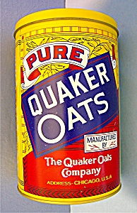 QUAKER OATS CANISTER TIN 1984, Limited Edition . . . (Image1)