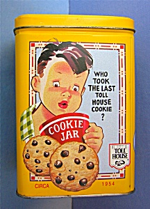 NESTLE Toll House Tin Canister  . . . (Image1)
