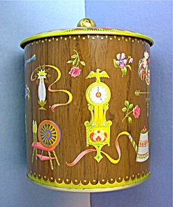 Decorative Tin Canister Designed Daher (Image1)