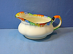 Grindley - Sauce Boat Or Milk Jug Cream Petal . . .