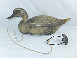 Vintage Feather-lite Duck Decoy 1954 Man Cave