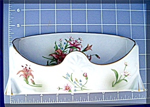 Ceramic Porcelain Eyeglass Holder Flowers