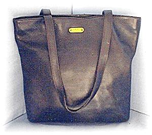 Bag Large Black Leather ENZO ANGOLINI Tote  (Image1)
