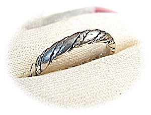 Sterling Silver Band Ring . . . . .