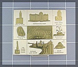 Compact Souvenier of Chicago Illinois Coin  (Image1)