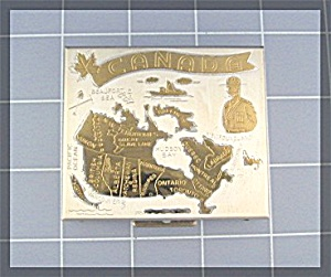 Powder Compact, Souvenier of Canada (Image1)