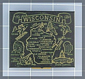Compact Souvenier Of Wisconsin