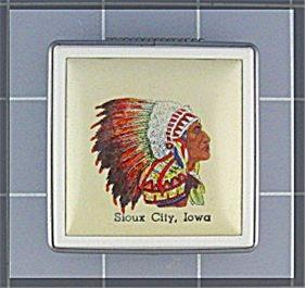 Compact  Sioux City Iowa Souvenier  (Image1)