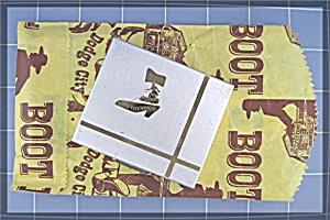 Compact Dodge City Kansas Boot Hill Souvenier  (Image1)
