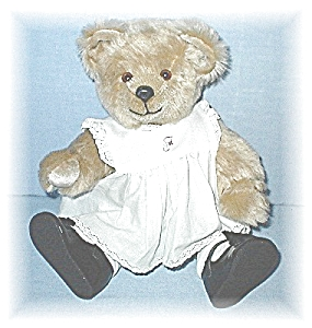 14 Inch Golden Mohair Artist Made Teddy Bear (Image1)