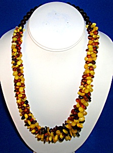 Balkan Amber Clustered Honey Butterscotch Necklace