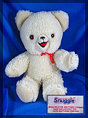 Snuggle Bear - Lever Brothers - 12 Inches Tall