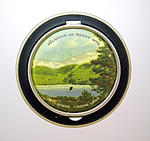 Compact Rocky Mountains Mt Evans Echo Lake Souvenier   (Image1)