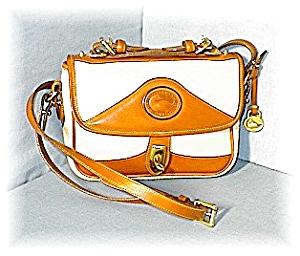 Tan & Cream DOONEY & BOURKE Shoulder Bag (Image1)