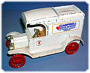 BANK - ERTL Metal Replica 1913 Model T Van Bank (Image1)