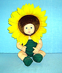 Anne Geddes 15 Inch Sunflower Doll... (Image1)