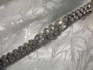 EISENBERG ICE Double Row Crystal Bracelet Vintage (Image1)