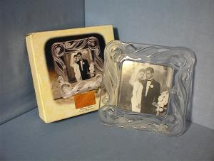 Fifth Ave Crystal Photograph Frame. (Image1)