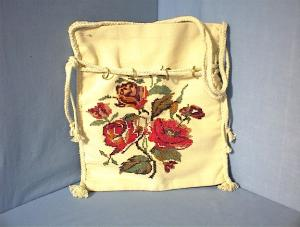 Hand Embroidered Canvas Bag