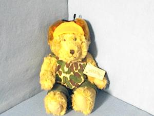 Russ Berrie Toys From The Past BUCK Bear (Image1)