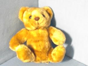 Small Russ Berrie Stuffed Teddy Bear (Image1)