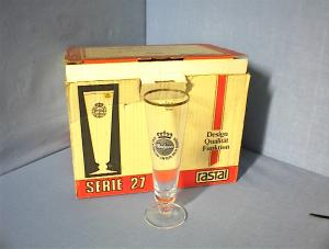12 Vintage German Glass In Original Box. (Image1)
