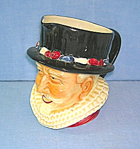 Staffordshire Toby Jug Shorter & Sons Beefeater England