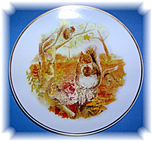 Squirrels Wildlife Of Britain Collector Plate
