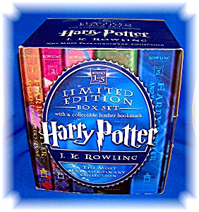 HARRY POTTER HARDCOVER BOXED SET (BKS 1-5) J. K ROWLING (Image1)