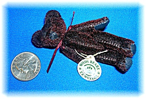 3 Inch Chocolate Brown T.F Wuzzle' Boyds Bear (Image1)
