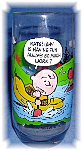 CAMP SNOOPY COLLECTOR GLASS (Image1)