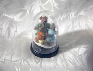 Miniature Momma Bear Poppa Bear Baby Bear (Image1)