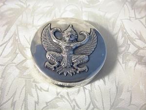 Compact Silver Goddess Mirrored  10/12/34 Bangkok (Image1)