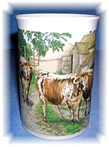 DUNOON TEA COFFE MUG FINE BONE CHINA Richard Partis (Image1)