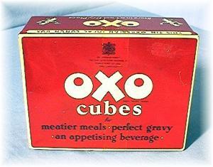 Vintage OXO Tin Box circa 1950's (Image1)