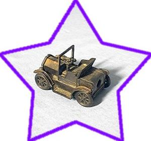 Metal Motor Car Pencil Sharpener. (Image1)