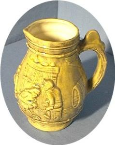 "Holland Mold ""Haller' Pitcher (Image1)"