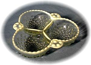Opalescent 3 Part Hobnail Dimpled Candy Dish (Image1)