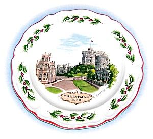 Wedgewood Christmazs 1980 Windsor Castle (Image1)