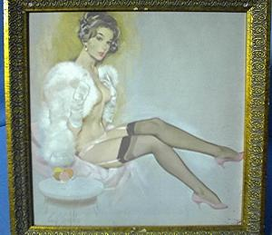 Fritz Willis Framed 'Pin Up' Print (Image1)